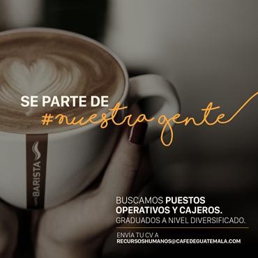 Café empleos en Guatemala