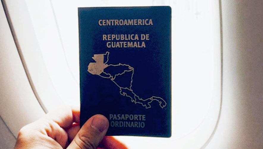 Calcomanía gratuita que valida el pasaporte vencido en Guatemala