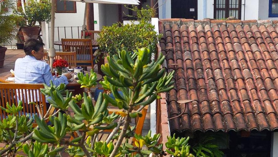 Terraza De Casa Encantada Hoteles Con Terraza En Antigua