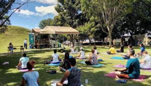 Clase de yoga en Museo Miraflores | Enero 2018