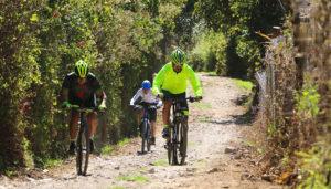 Colazo en bicicleta MTB en San Lucas Sacatepéquez | Enero 2018