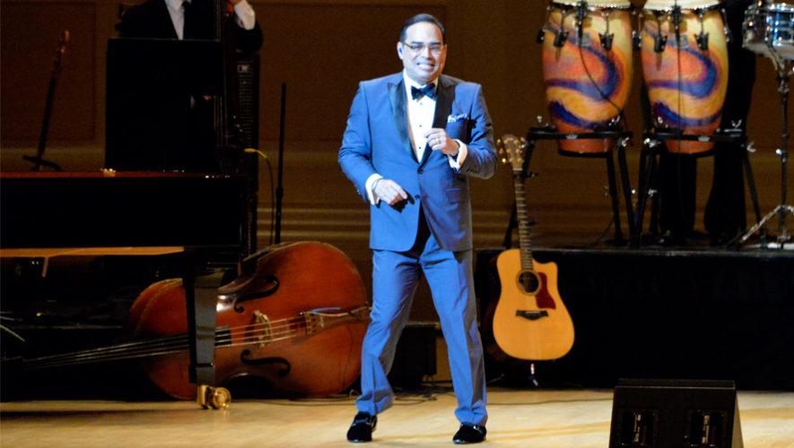 Concierto de Gilberto Santa Rosa en Guatemala