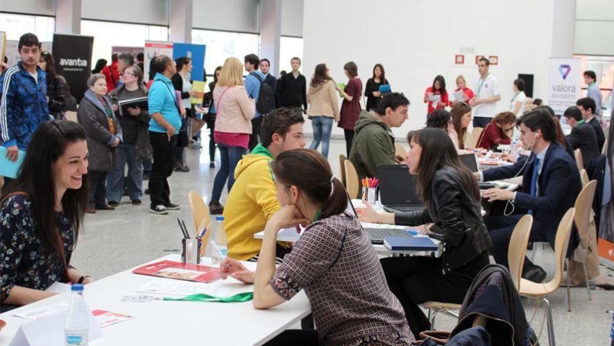 Feria de Empleo 2018 en el Campus Central de la Universidad de San Carlos