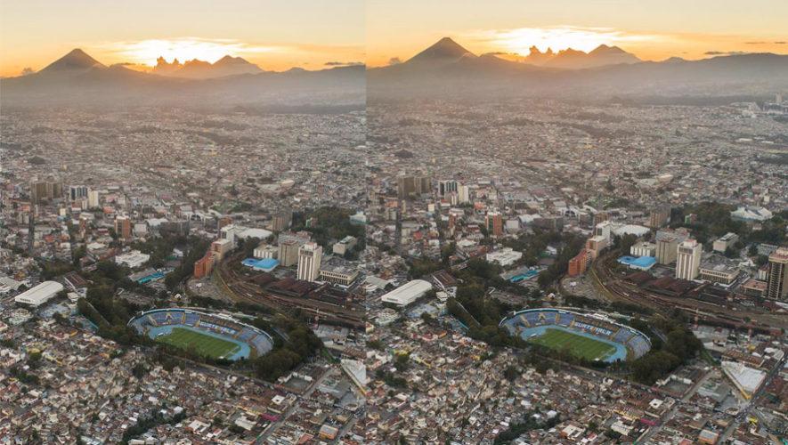 Fotógrafo Rodrigo Calderón es reconocido por una imagen del Estadio Doroteo Guamuch Flores