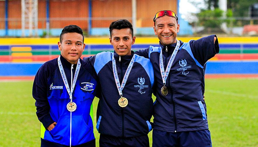atletismo en Juegos Paracentroamericanos 2018