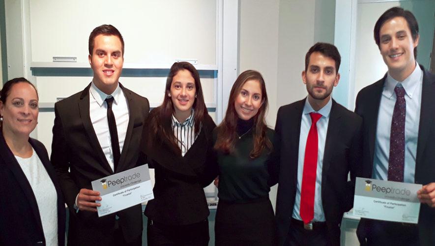 Guatemaltecos entre los primeros lugares del concurso Peeptrade, Estados Unidos