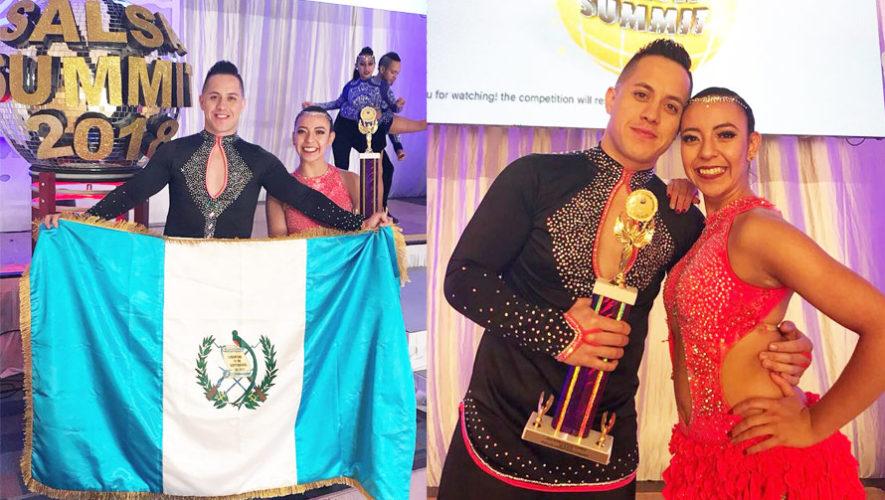 Guatemaltecos ganan el primer lugar en competencia mundial de salsa en Estados Unidos