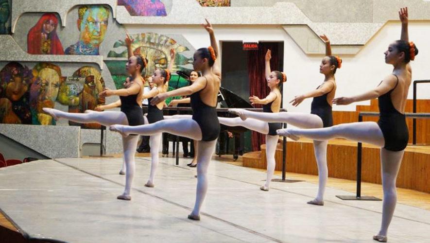 Inscripciones en la Escuela Nacional de Danza Marcelle Bonge de Devaux, Ciudad de Guatemala