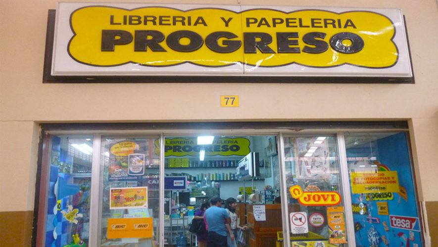 855b9869f20 Lugares para comprar útiles escolares en la Ciudad de Guatemala
