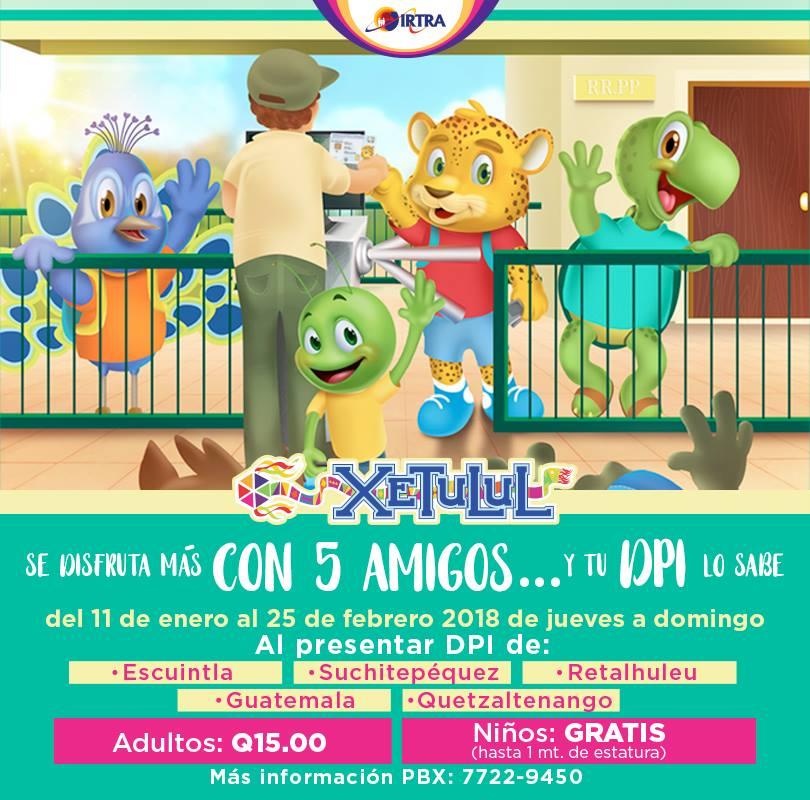 Promociones de enero 2018 en los parques Xetulul y Xocomil