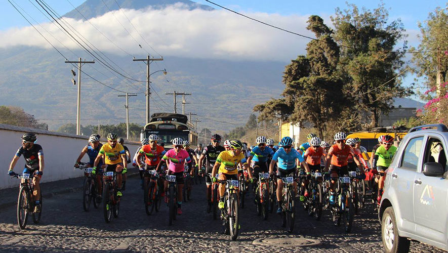 Tour en bicicleta por las calles de Antigua Guatemala | Febrero 2018