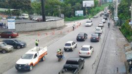 Ubicaciones y horarios de los carriles reversibles en la Ciudad de Guatemala
