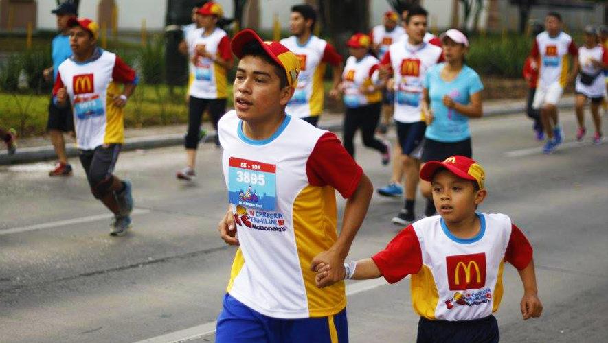V Carrera Familiar McDonald's | Febrero 2018