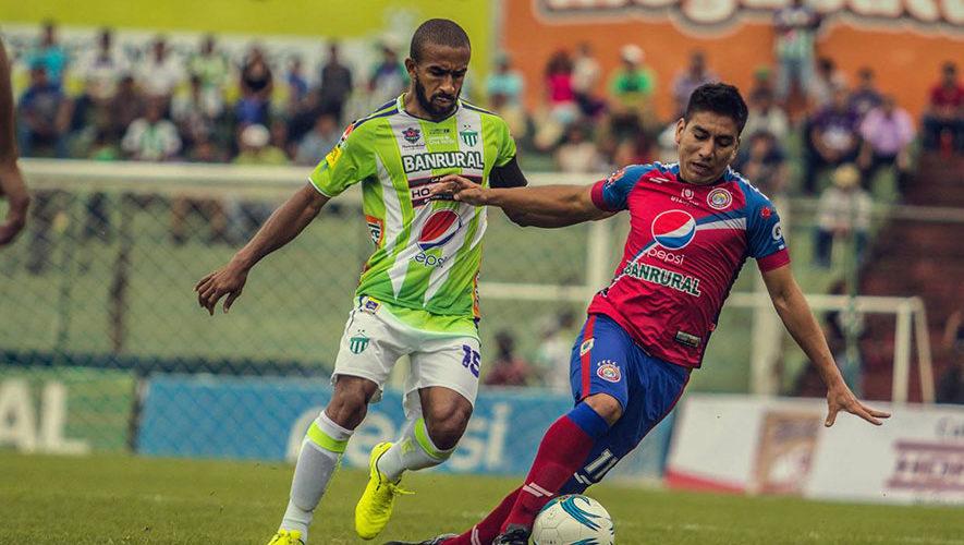 Partido de Antigua y Xelajú por el Torneo Clausura   Febrero 2018