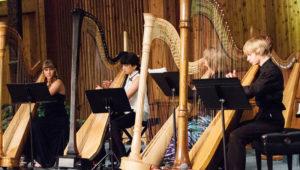 Recital de arpas en vivo en Museo Miraflores | Enero 2018