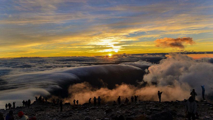 Ascenso y campamento en el Volcán Tajumulco | Enero 2018