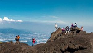 Ascenso de un día al volcán Pacaya   Enero 2018
