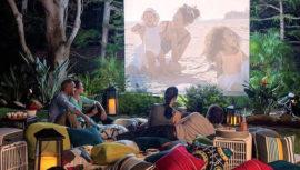 Noche romántica de cine y picnic al aire libre   Enero 2018