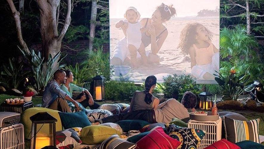 Noche romántica de cine y picnic al aire libre | Enero 2018