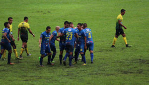 Partido de Cobán y Guastatoya por el Torneo Clausura   Enero 2018