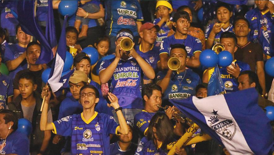 Partido de Cobán y Marquense por el Torneo Clausura | Enero 2018
