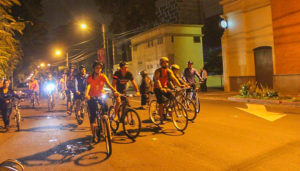 Colazo nocturno en bicicleta para Intermedios   Enero 2018