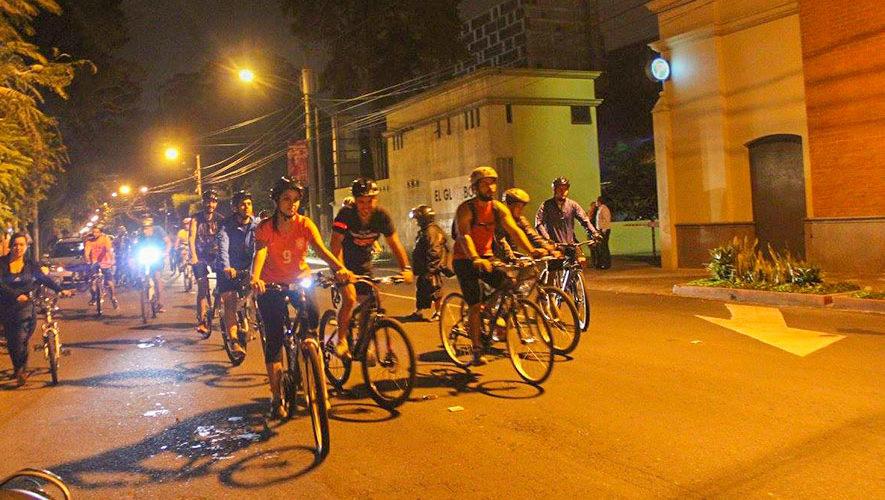Colazo nocturno en bicicleta para Intermedios | Enero 2018