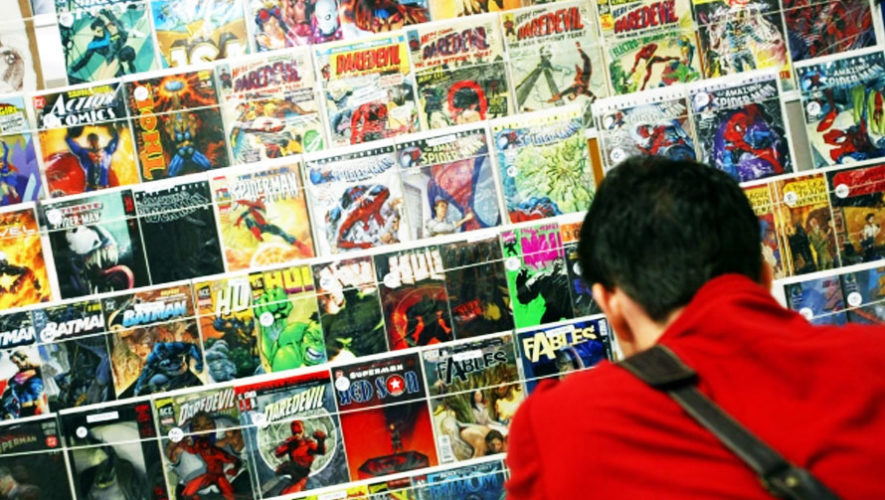 Día de cómics en Paseo Cayalá | Enero 2018