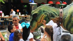 Show gratuito de dinosaurios en vivo, Ciudad de Guatemala   Enero 2018