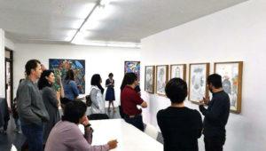 Exposición de obras de arte, Amplitud, en Ciudad de Guatemala   Enero 2018