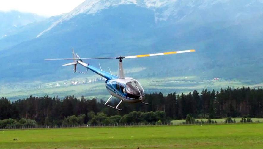 Viaje en helicóptero a El Mirador, Petén  | Febrero 2018
