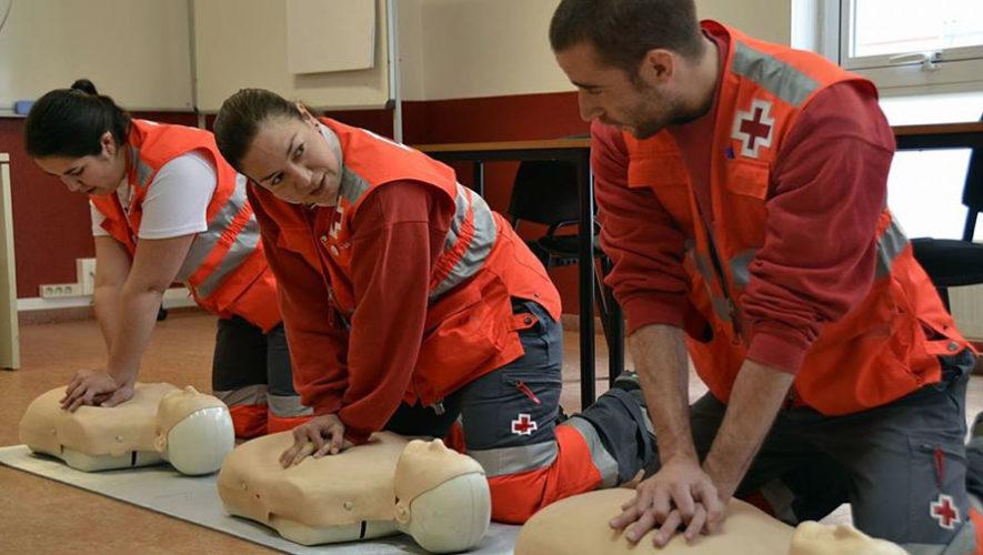 Curso básico de primeros auxilios de Cruz Roja | Julio 2018
