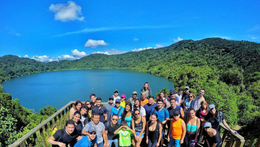 Viaje familiar a la Laguna de Ipala | Febrero 2018