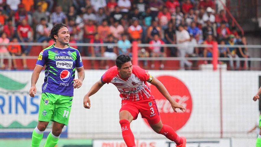 Partido de Malacateco y Antigua por el Torneo Clausura | Enero 2018