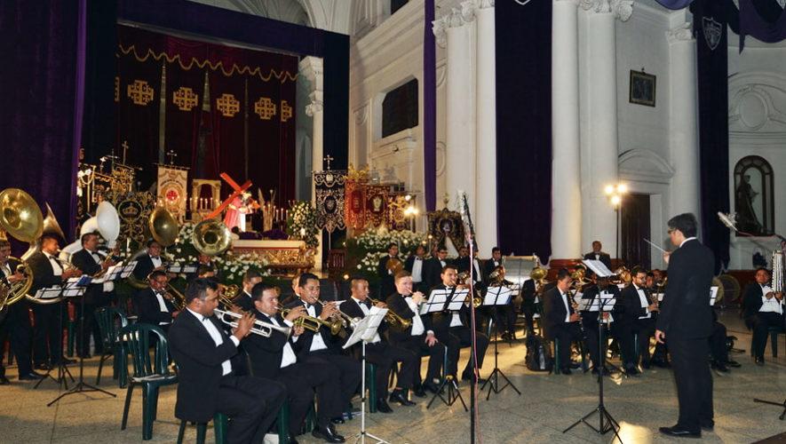 Primer concierto de marchas fúnebres en Villa Nueva | Febrero 2018