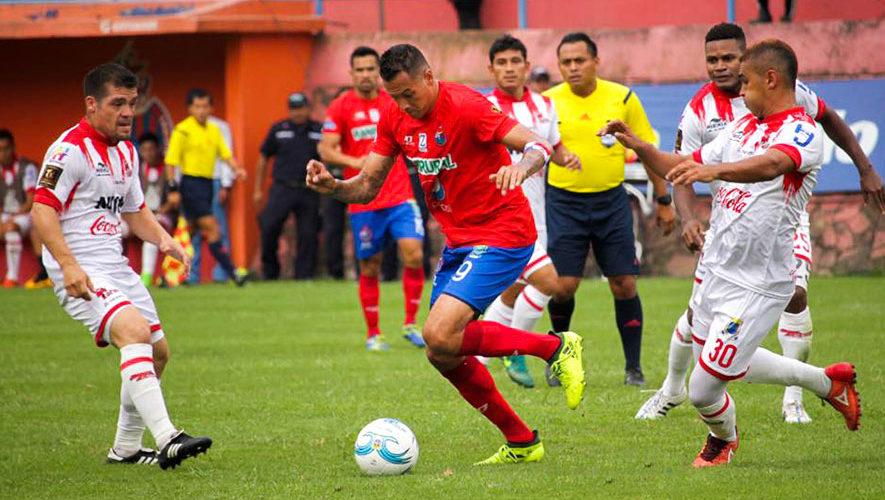 Partido de Municipal y Malacateco por el Torneo Clausura   Enero 2018
