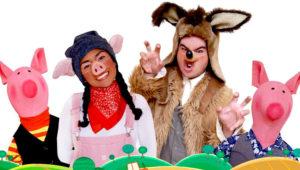 Obra de teatro infantil Los 3 Cerditos y el Lobo   Febrero 2018