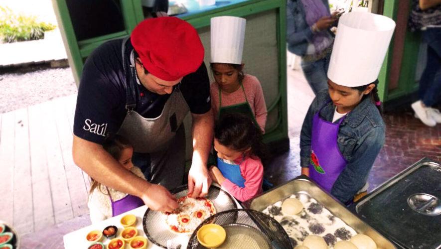 Taller gratuito de pizza para niños en Saúl L'Osteria | Enero 2018