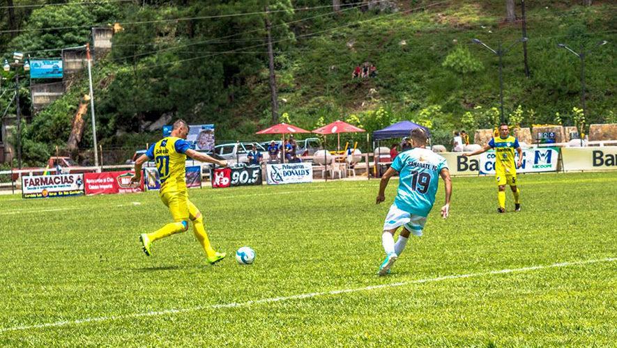 Partido de Sanarate y Cobán por el Torneo Clausura | Enero 2018