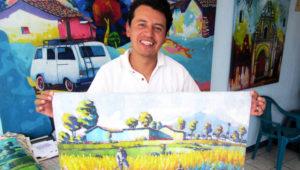Exposición gratuita Fragmentos del Paisaje, de Sergio Alvarado | Enero 2018