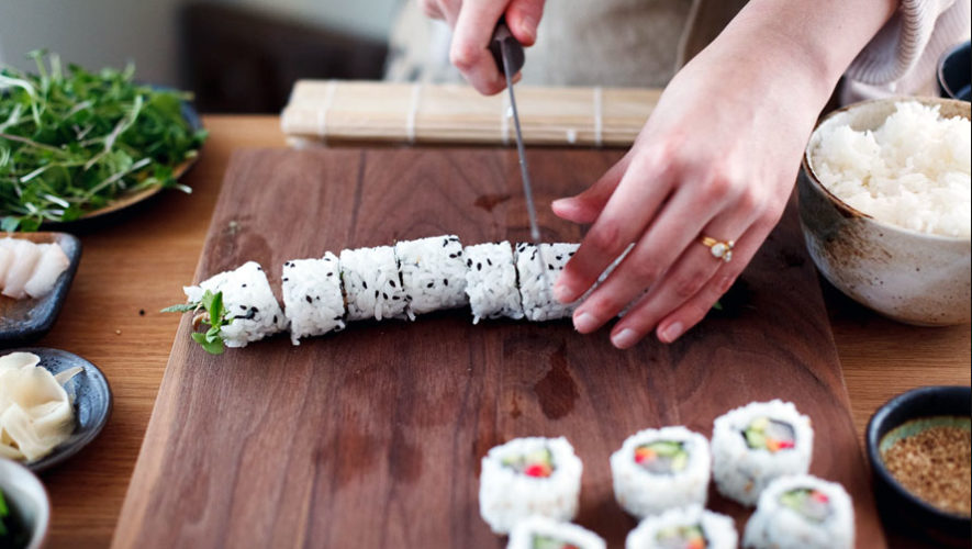 Taller para aprender a hacer Sushi en Guatemala | Febrero 2018