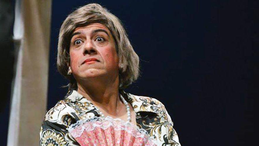 Obra de teatro La Tía de Carlos, en el Teatro Manuel Galich | Enero 2018