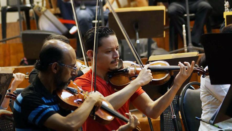 Concierto de violines en el Centro Histórico   Enero 2018