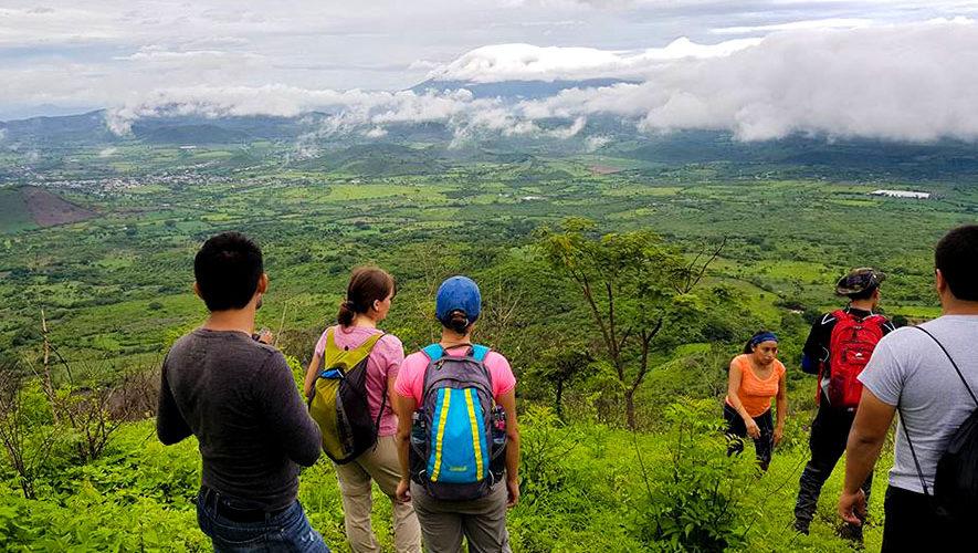 Ascenso a 8 volcanes del oriente de Guatemala en un fin de semana | Febrero 2018