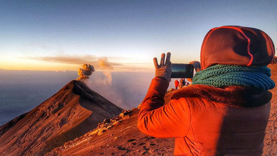 Ascenso Nocturno al Volcán Acatenango | Enero 2018