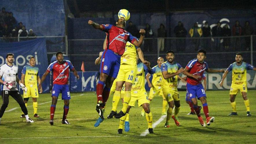 Partido de Xelajú y Cobán por el Torneo Clausura | Enero 2018