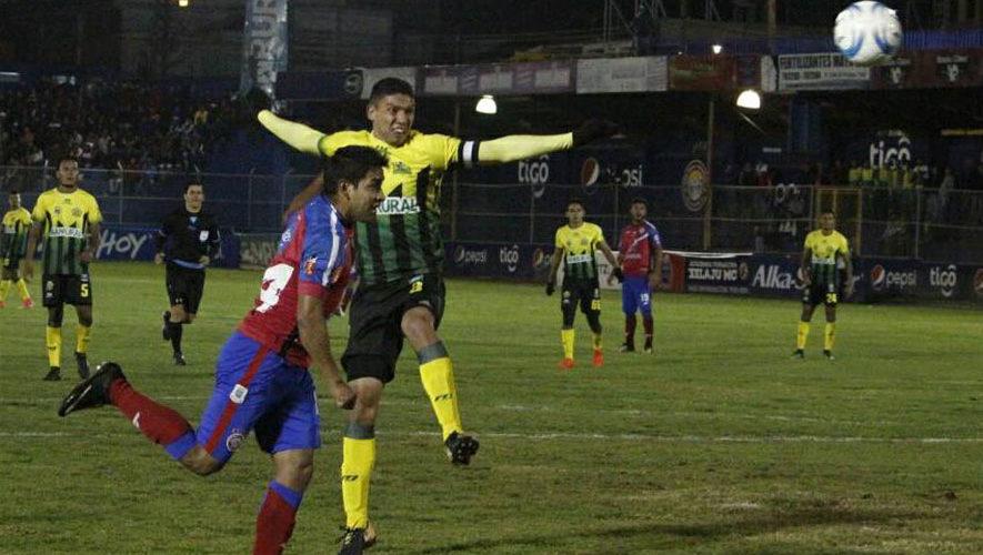 Partido de Xelajú y Guastatoya por el Torneo Clausura | Enero 2018