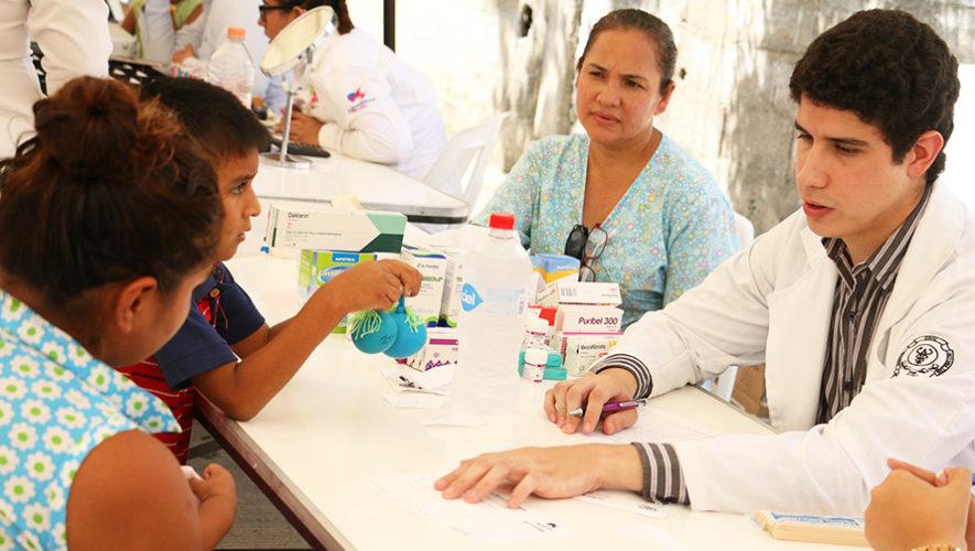 Asiste a la jornada médica gratuita en la Universidad de San Carlos
