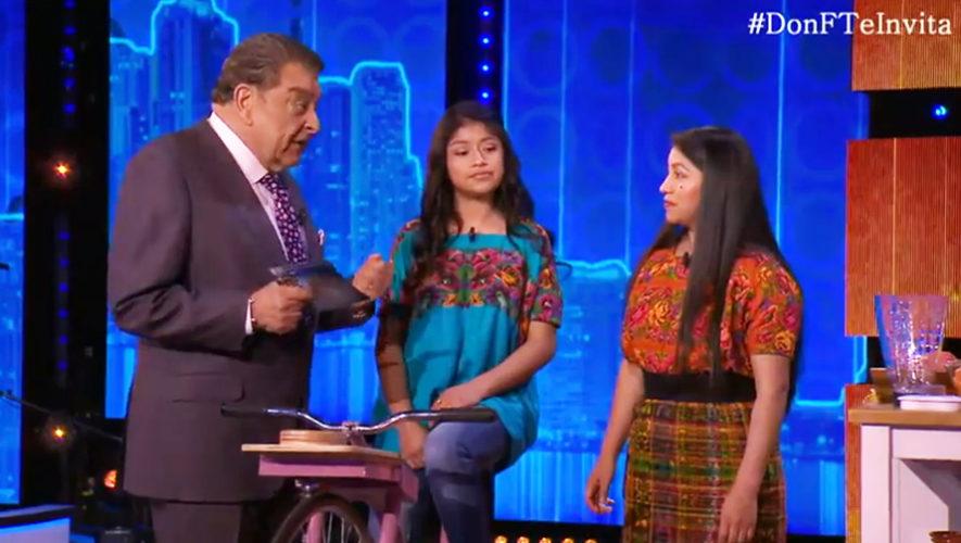 Bicimáquinas guatemaltecas sorprendieron en el programa Don Francisco Te Invita