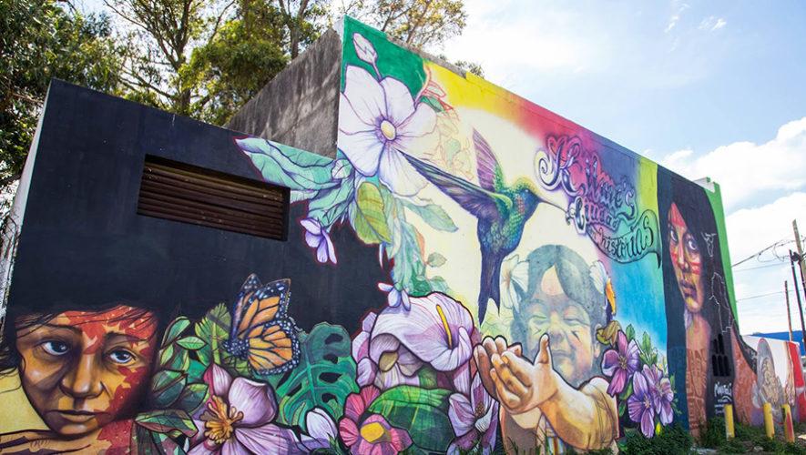 Buscan a artistas para diseñar un mural artístico en Quetzaltenango